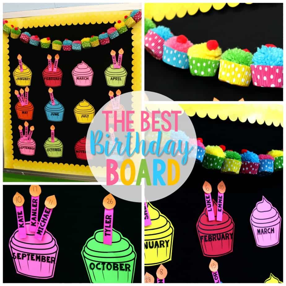 Classroom Decoration Happy Birthday ~ The best birthday board just reed
