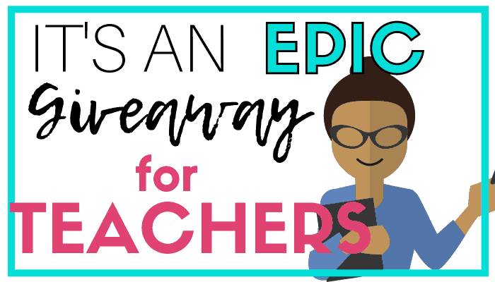 TEACHER APPRECIATION WEEK GIVEAWAY