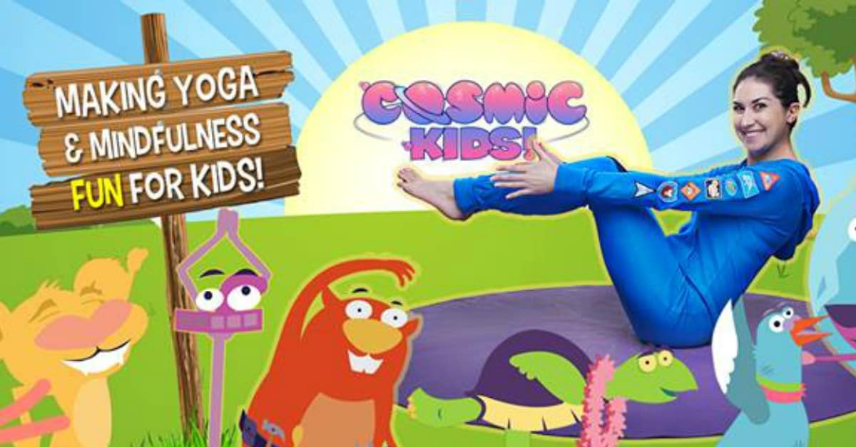 Cosmic Kids Yoga Just Reed Play