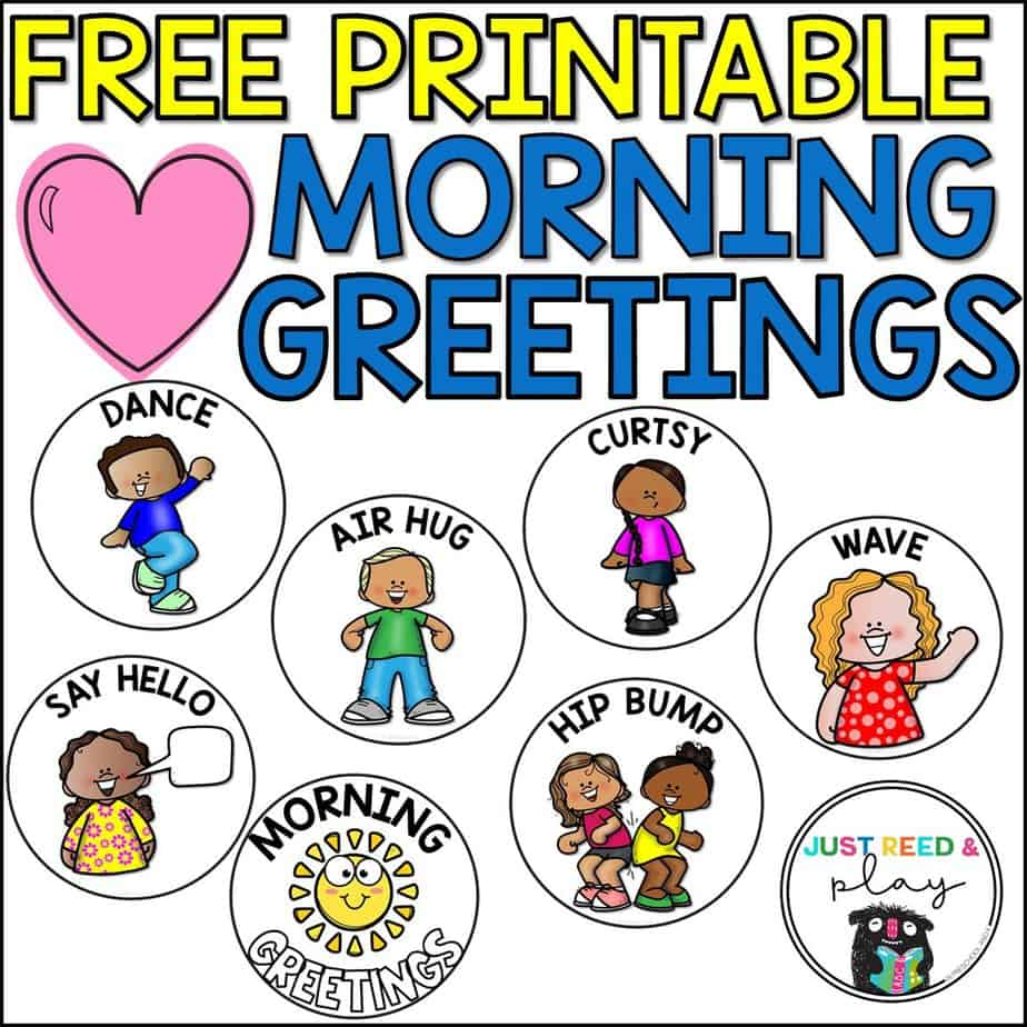 Fun Morning Greeting Ideas For The Classroom